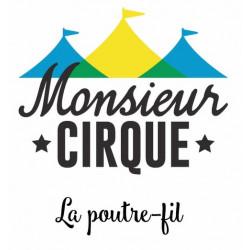 Vidéo - Poutre fil - La marche façon cirque