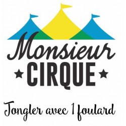 Vidéo - Foulard - Faire un tour sur soi-même