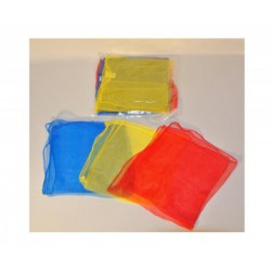 mini foulards 40 x 40 cm set de 3