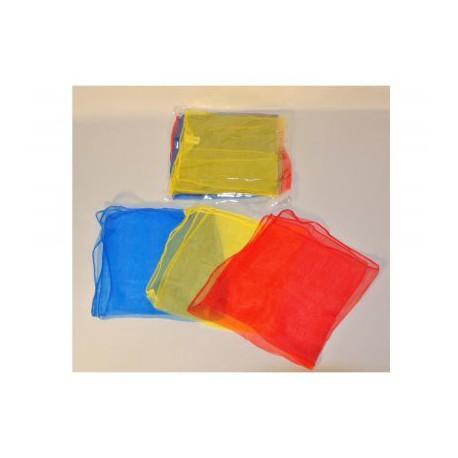 mini foulards 40 x 40 cm set de 3